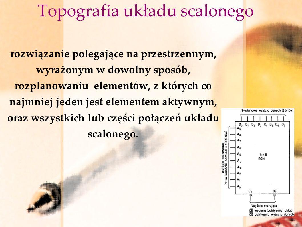 Topografia układu scalonego