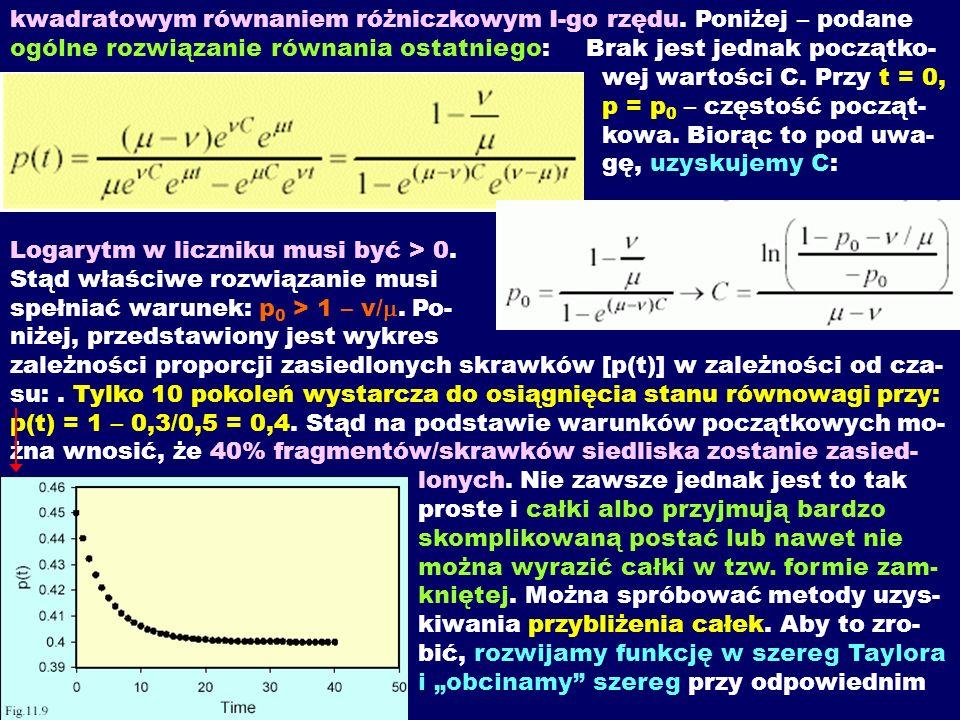kwadratowym równaniem różniczkowym I-go rzędu