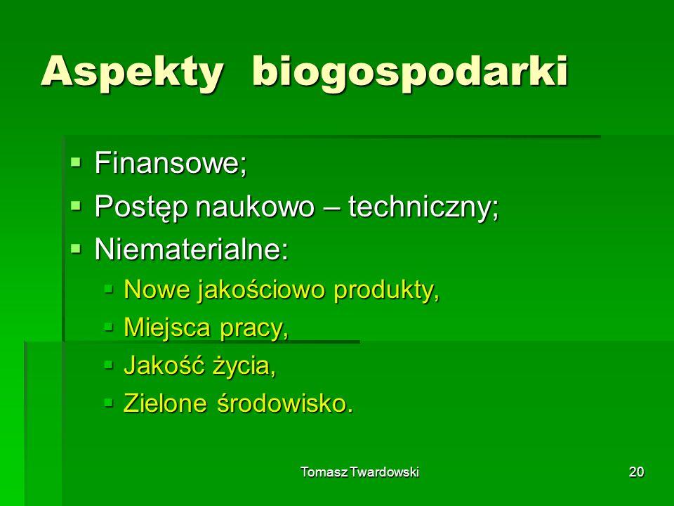 Aspekty biogospodarki