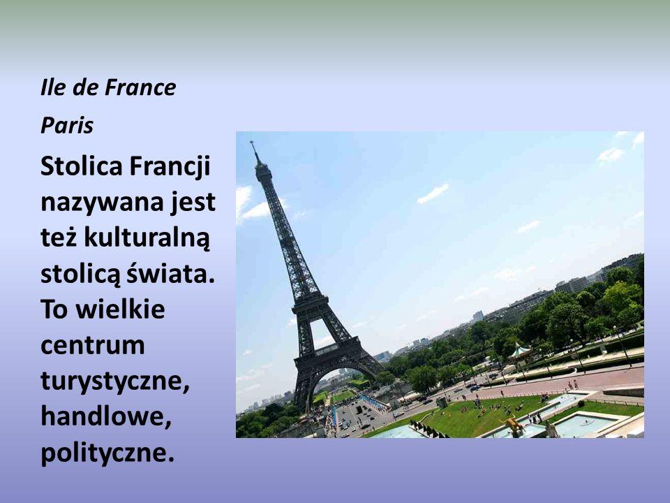 Ile de France Paris. Stolica Francji nazywana jest też kulturalną stolicą świata.