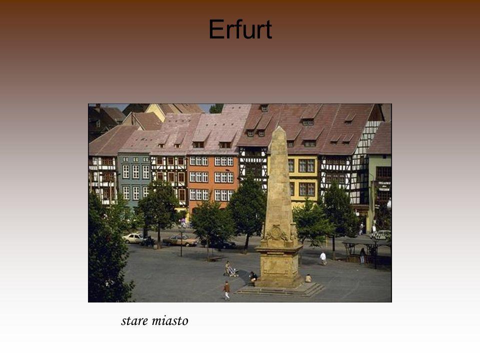 Erfurt stare miasto