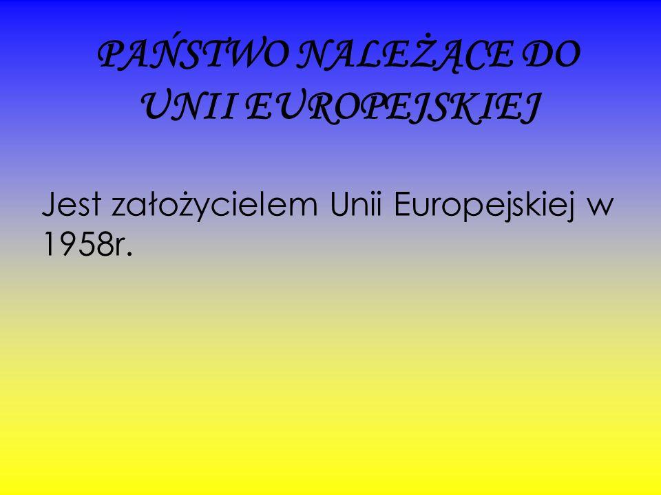 PAŃSTWO NALEŻĄCE DO UNII EUROPEJSKIEJ