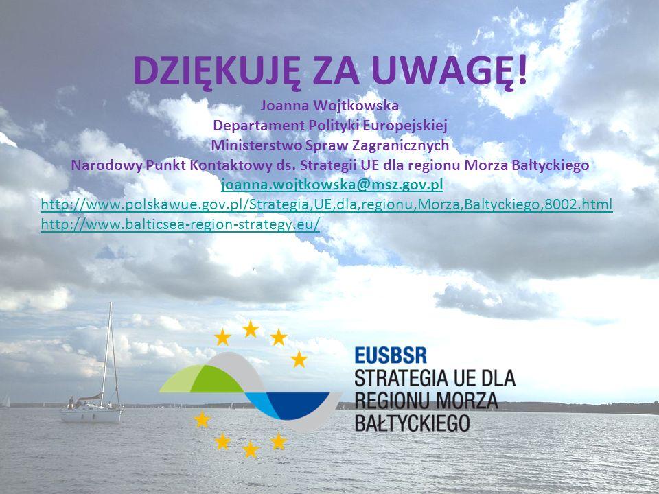 Departament Polityki Europejskiej Ministerstwo Spraw Zagranicznych