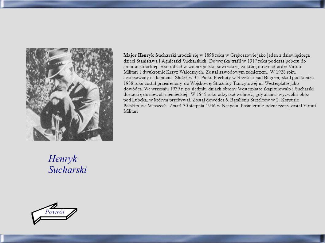 Henryk Sucharski Powrót