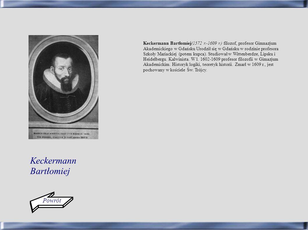 Keckermann Bartłomiej