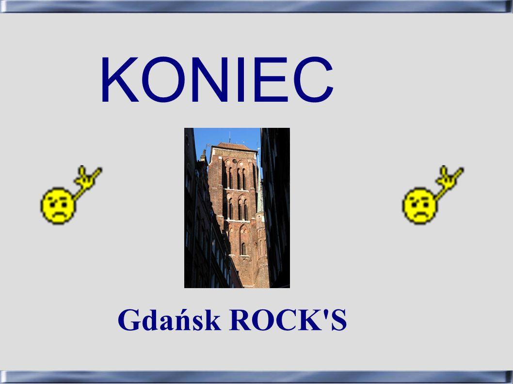 KONIEC Gdańsk ROCK S