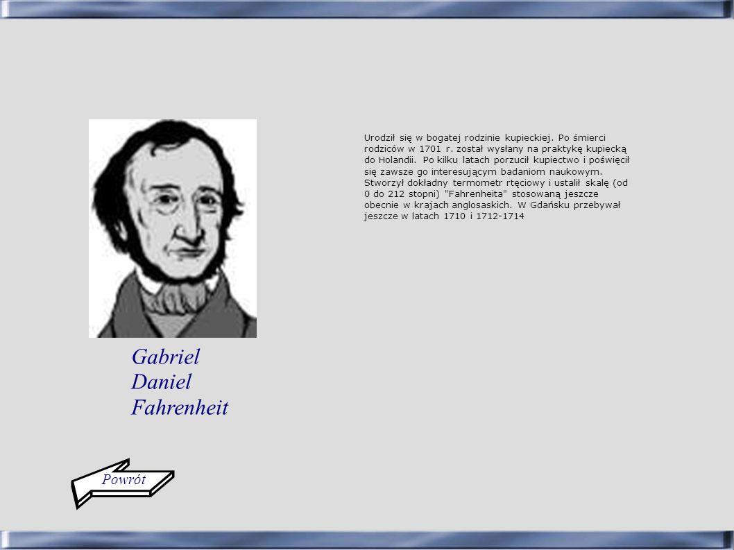 Gabriel Daniel Fahrenheit