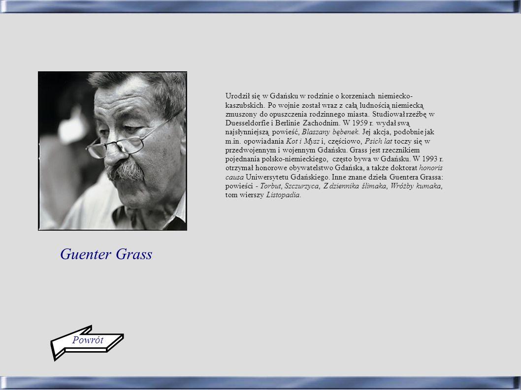 Urodził się w Gdańsku w rodzinie o korzeniach niemiecko-kaszubskich