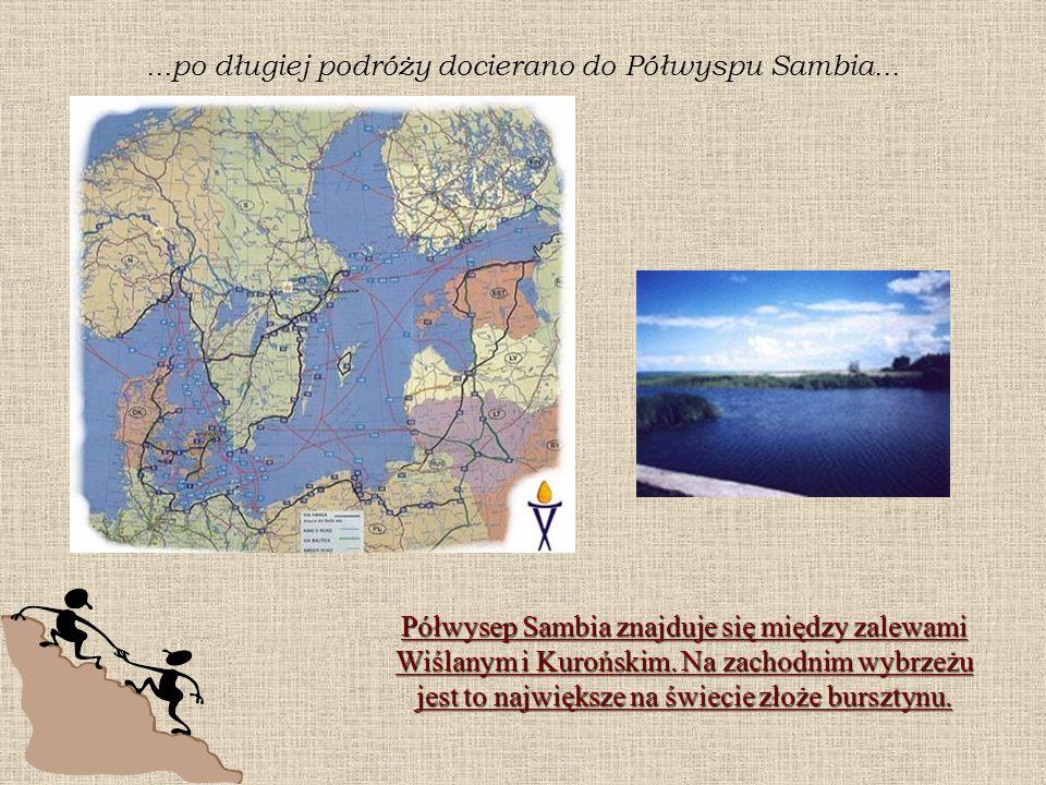 ...po długiej podróży docierano do Półwyspu Sambia...