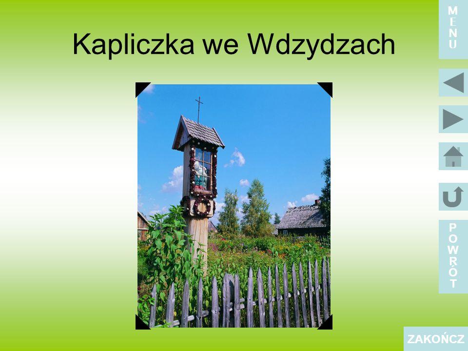Kapliczka we Wdzydzach