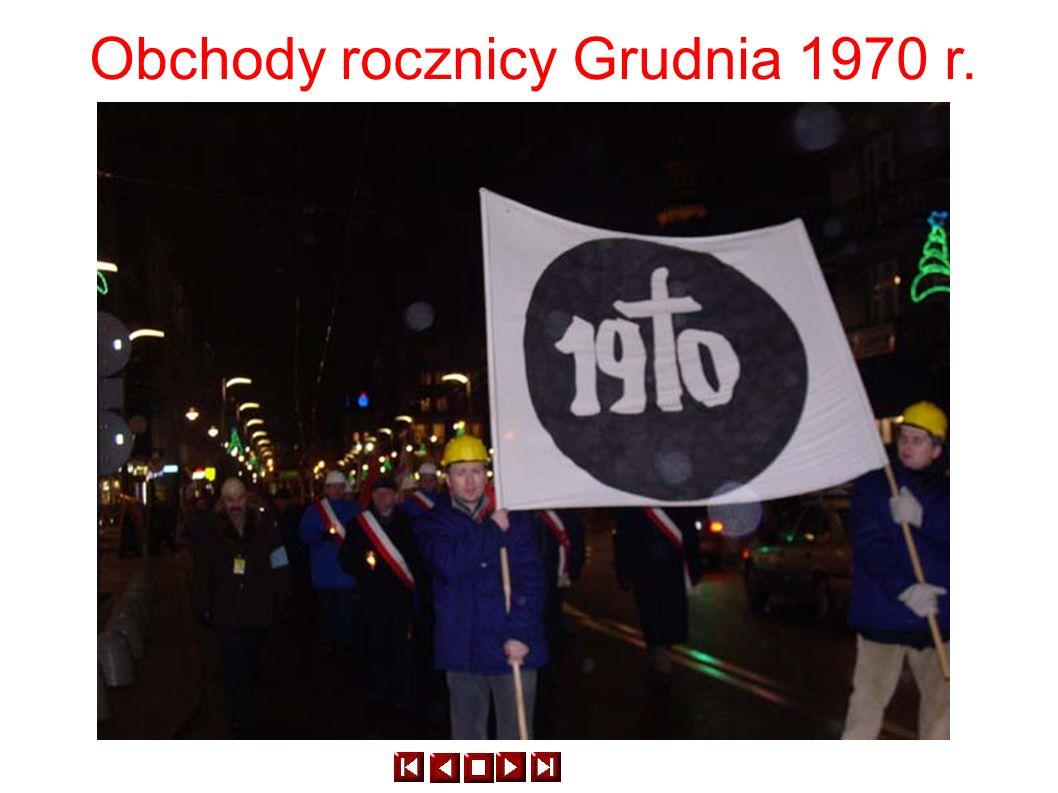 Obchody rocznicy Grudnia 1970 r.