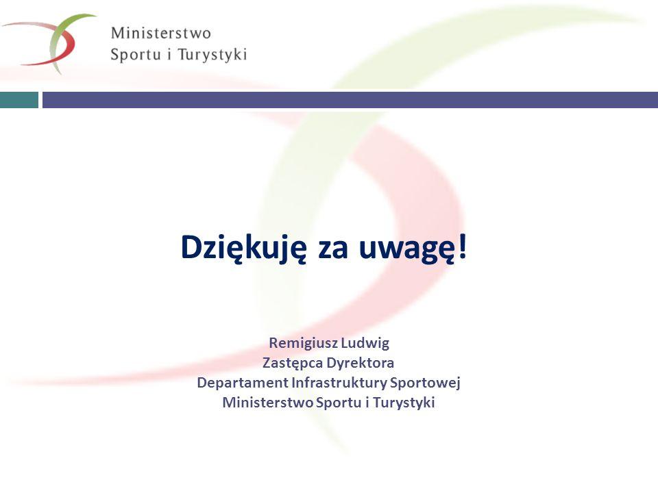 Departament Infrastruktury Sportowej Ministerstwo Sportu i Turystyki