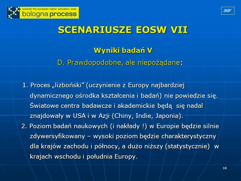 SCENARIUSZE EOSW VII Wyniki badań V