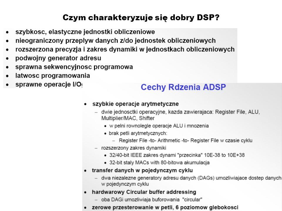 Czym charakteryzuje się dobry DSP