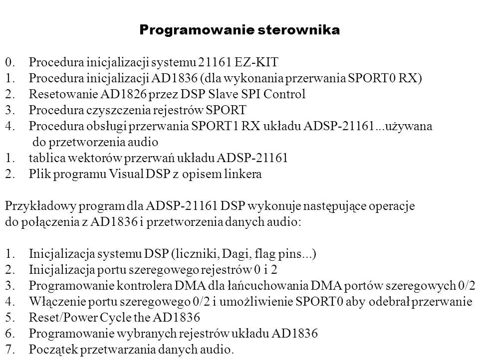 Programowanie sterownika