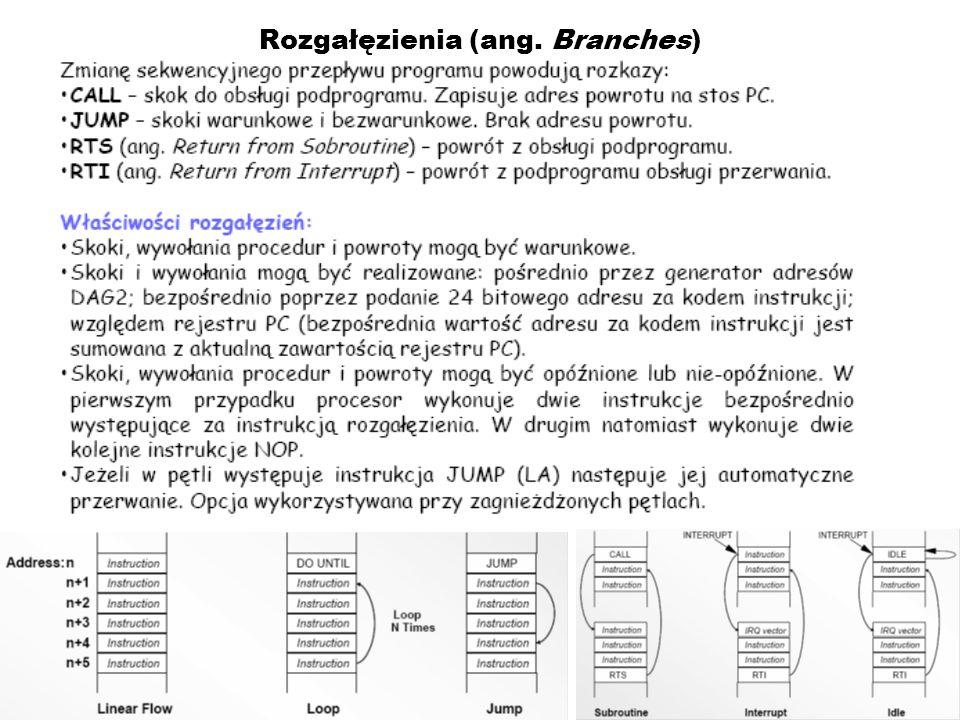 Rozgałęzienia (ang. Branches)