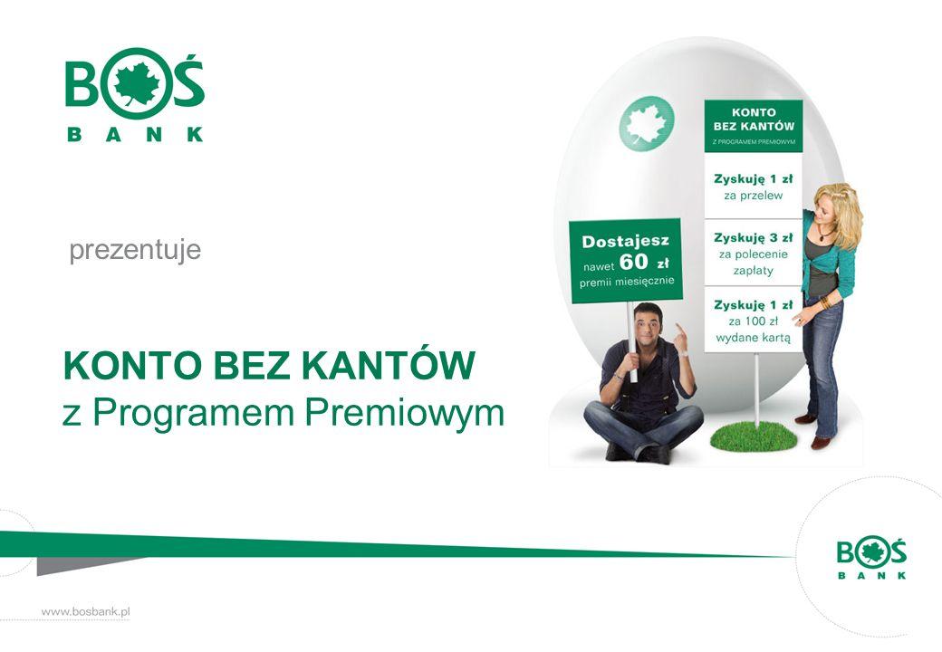 KONTO BEZ KANTÓW z Programem Premiowym
