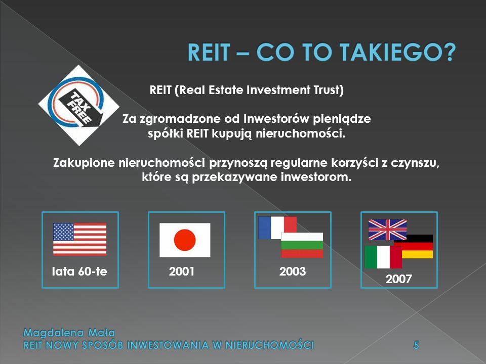 REIT (Real Estate Investment Trust)