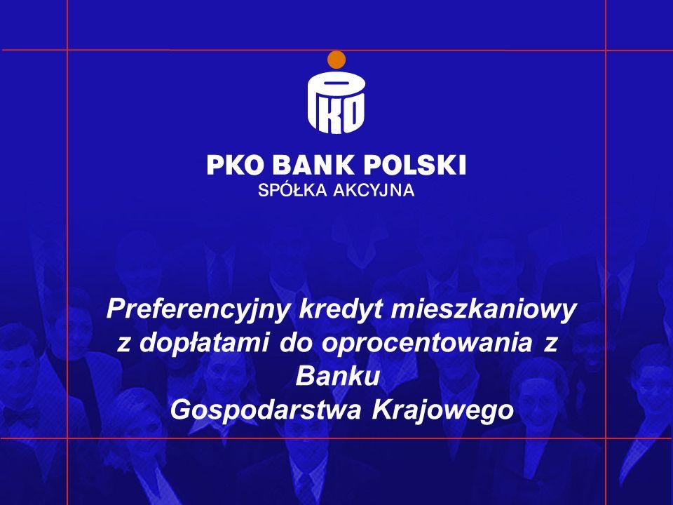 Preferencyjny kredyt mieszkaniowy z dopłatami do oprocentowania z Banku Gospodarstwa Krajowego