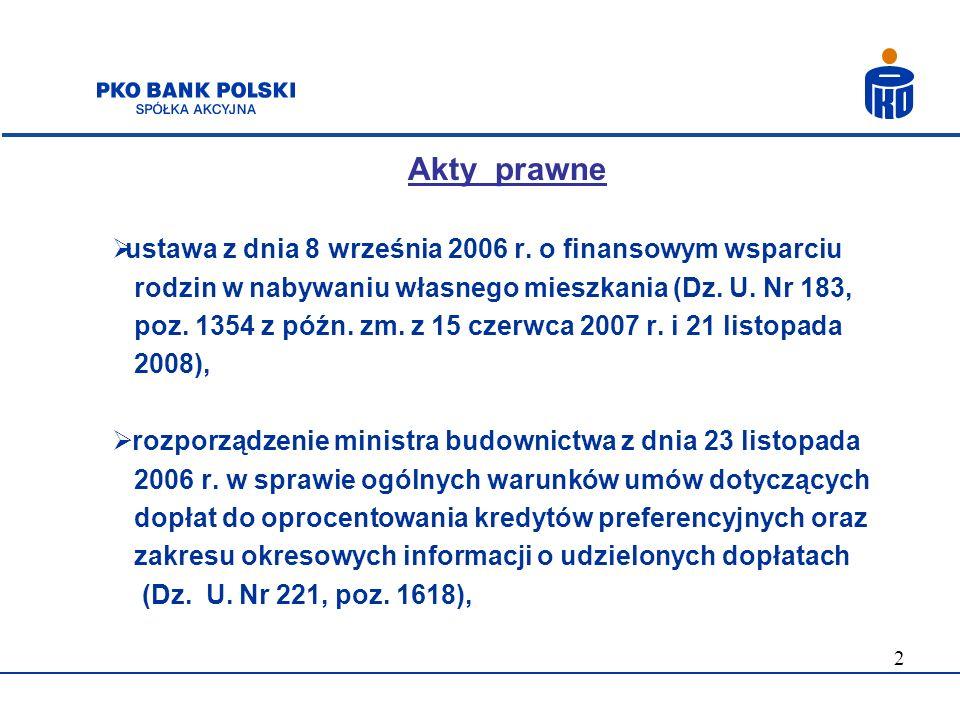 Akty prawne ustawa z dnia 8 września 2006 r. o finansowym wsparciu