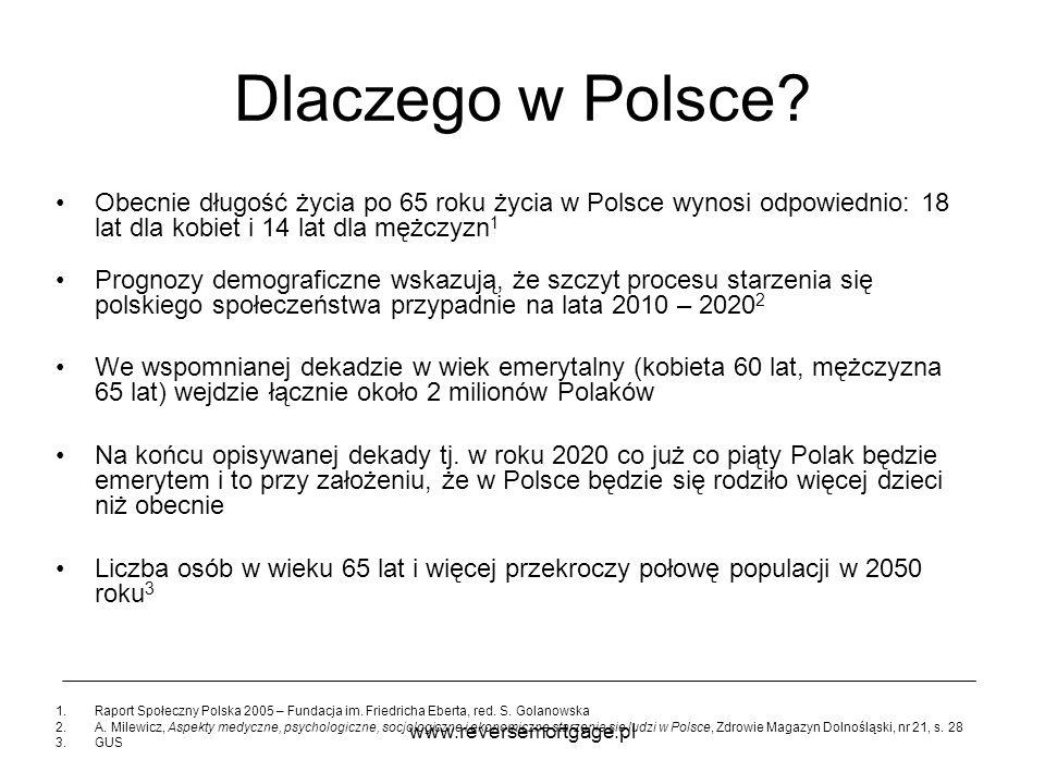 Dlaczego w Polsce Obecnie długość życia po 65 roku życia w Polsce wynosi odpowiednio: 18 lat dla kobiet i 14 lat dla mężczyzn1.