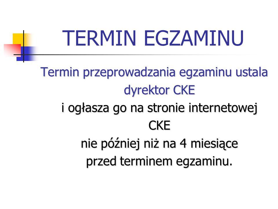 TERMIN EGZAMINU