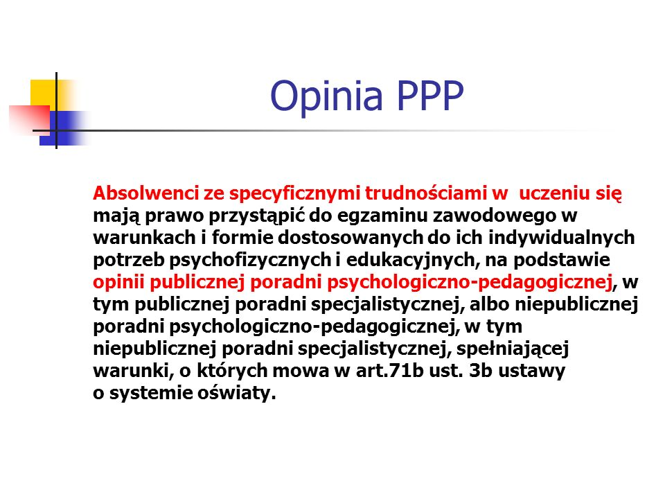 Opinia PPP