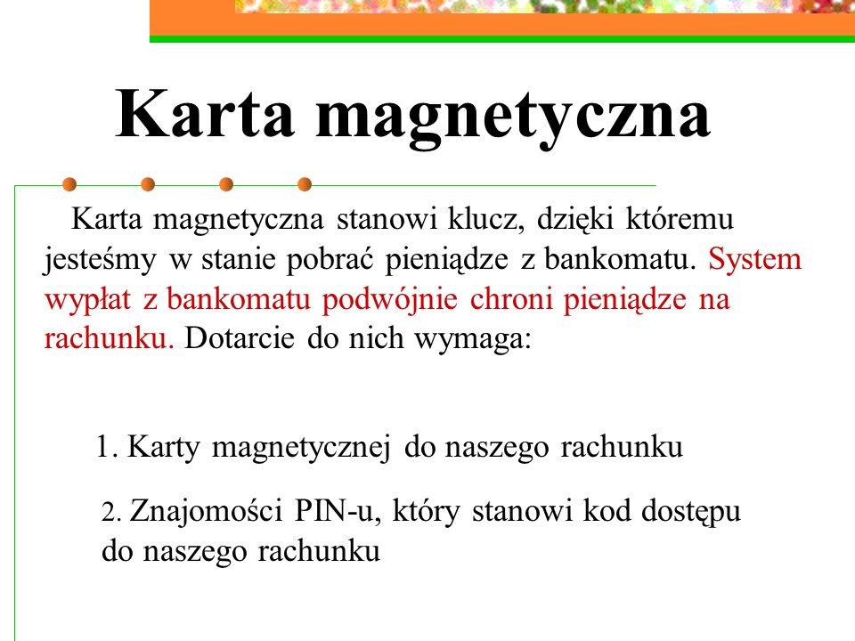 Karta magnetyczna