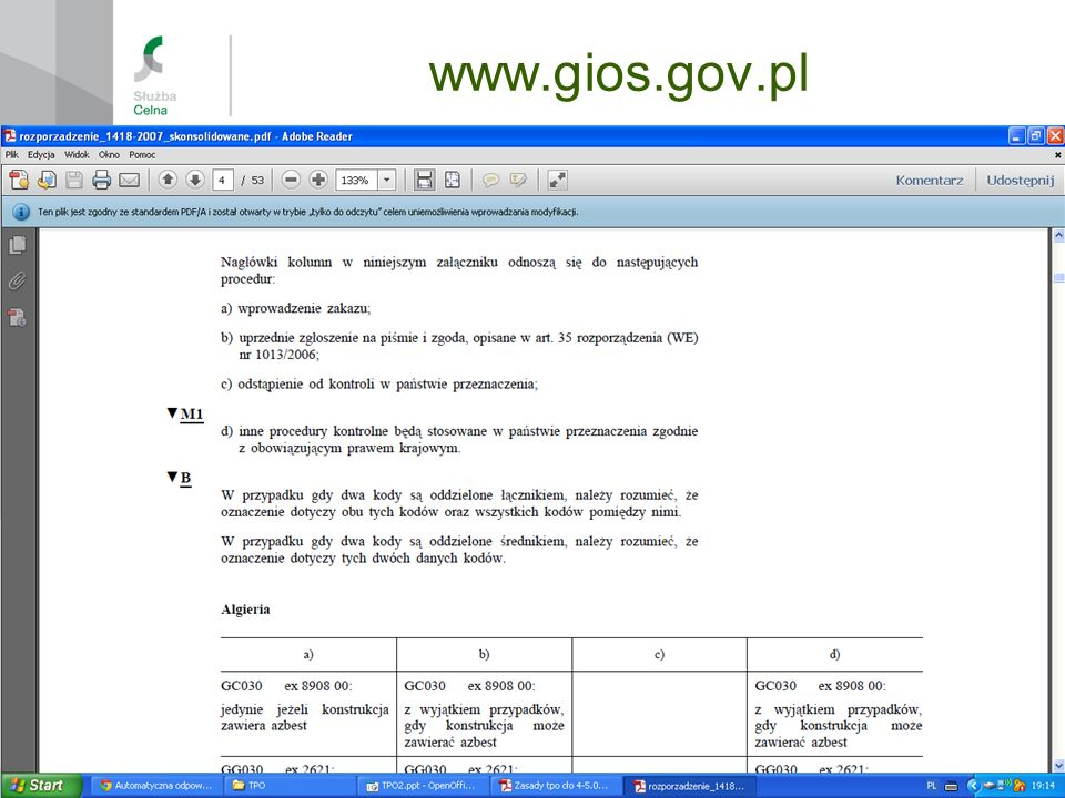 www.gios.gov.pl