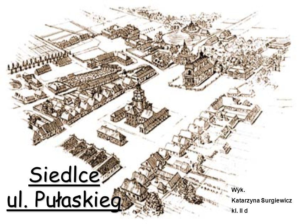 Siedlce ul. Pułaskieg Wyk. Katarzyna Surgiewicz kl. II d