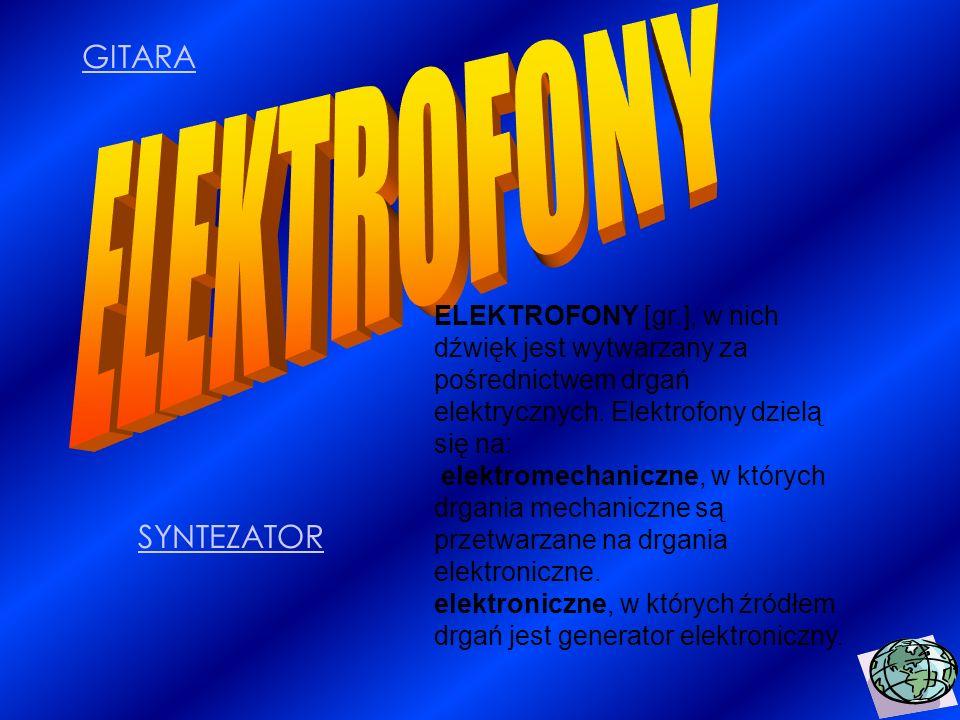 ELEKTROFONY GITARA SYNTEZATOR