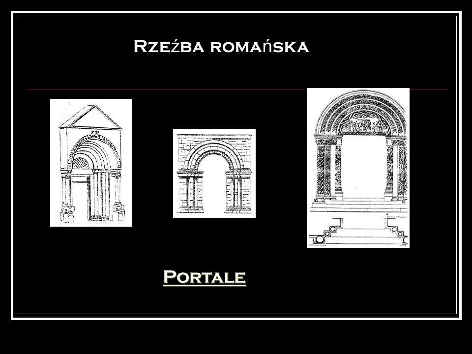 Rzeźba romańska Portale