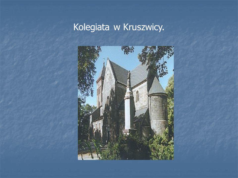 Kolegiata w Kruszwicy.