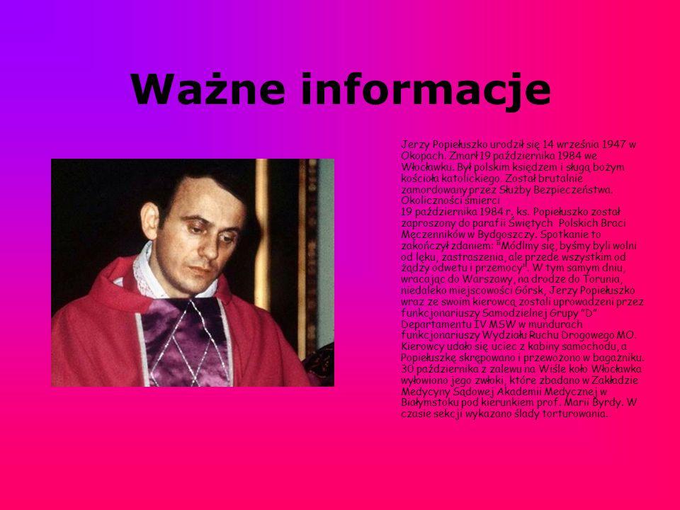 Ważne informacje