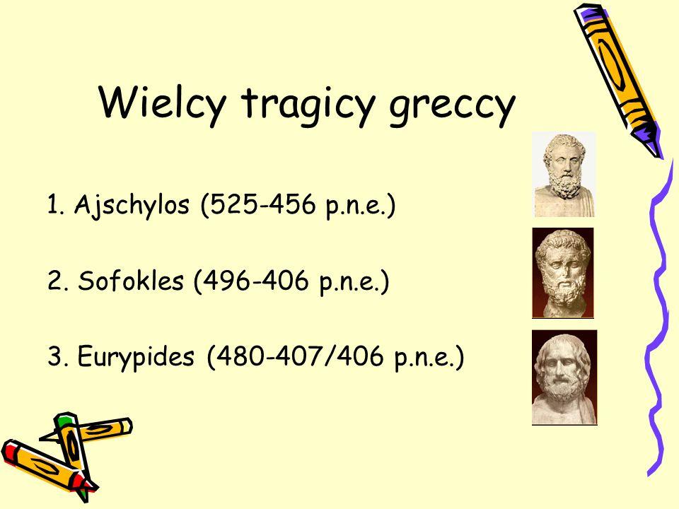 Wielcy tragicy greccy 1. Ajschylos (525-456 p.n.e.)