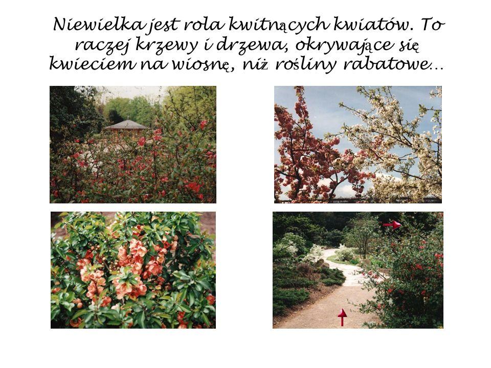 Niewielka jest rola kwitnących kwiatów