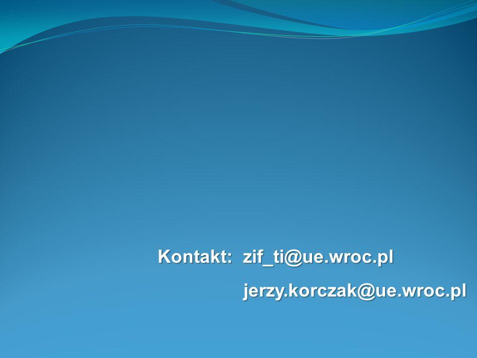 Kontakt: zif_ti@ue.wroc.pl