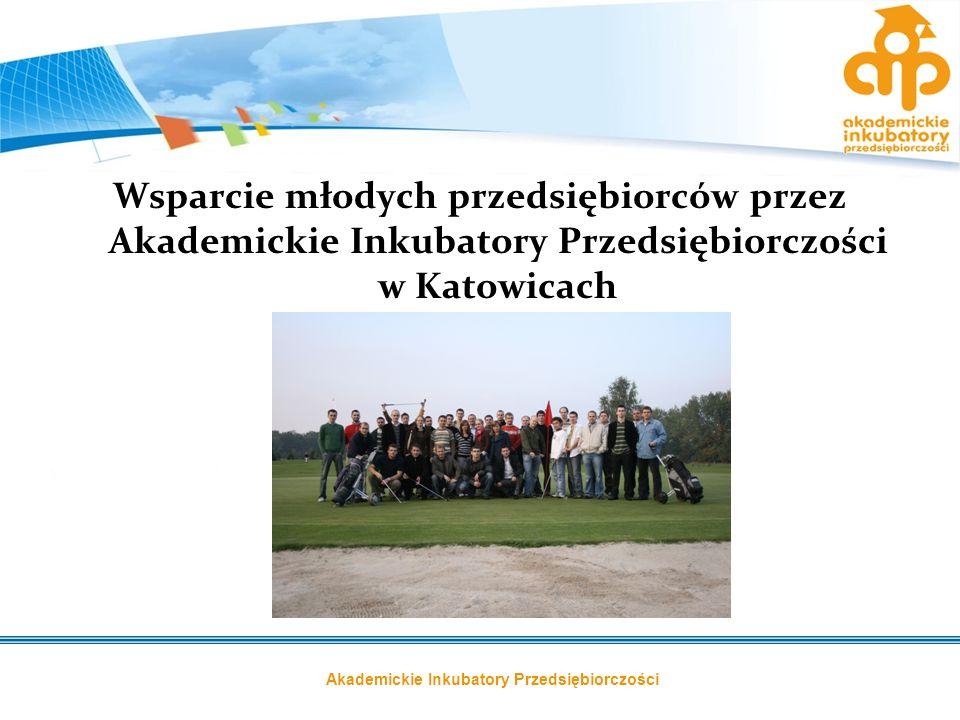 Wsparcie młodych przedsiębiorców przez Akademickie Inkubatory Przedsiębiorczości w Katowicach