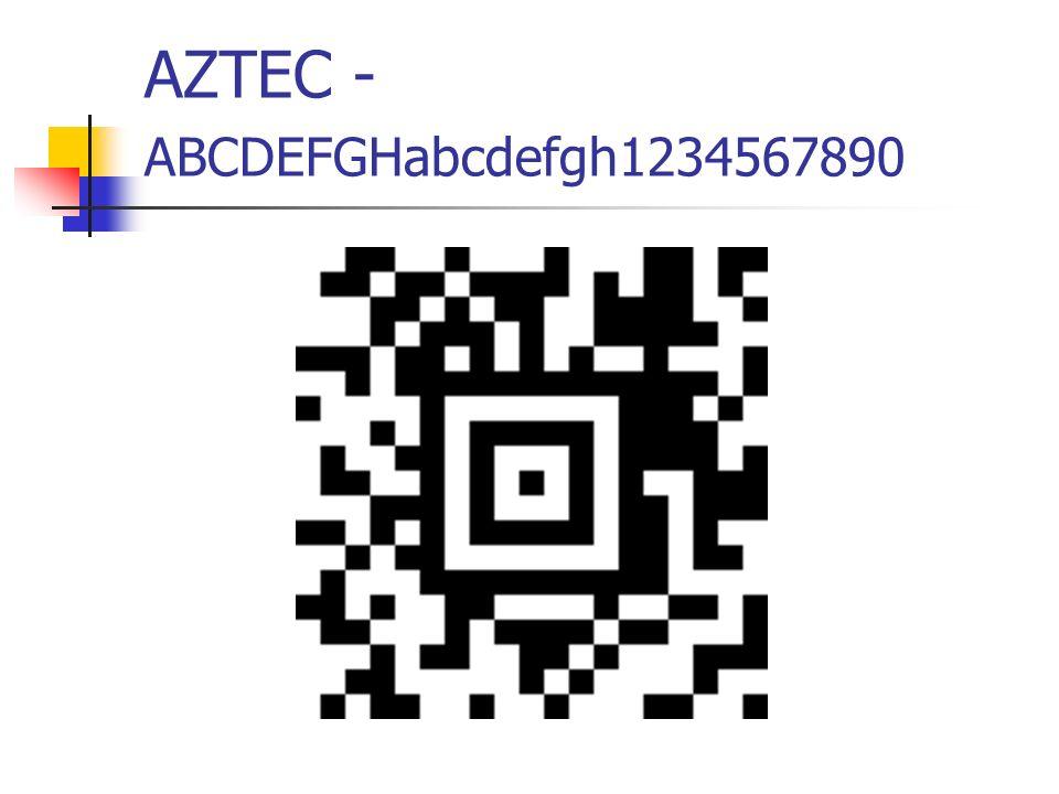 AZTEC - ABCDEFGHabcdefgh1234567890