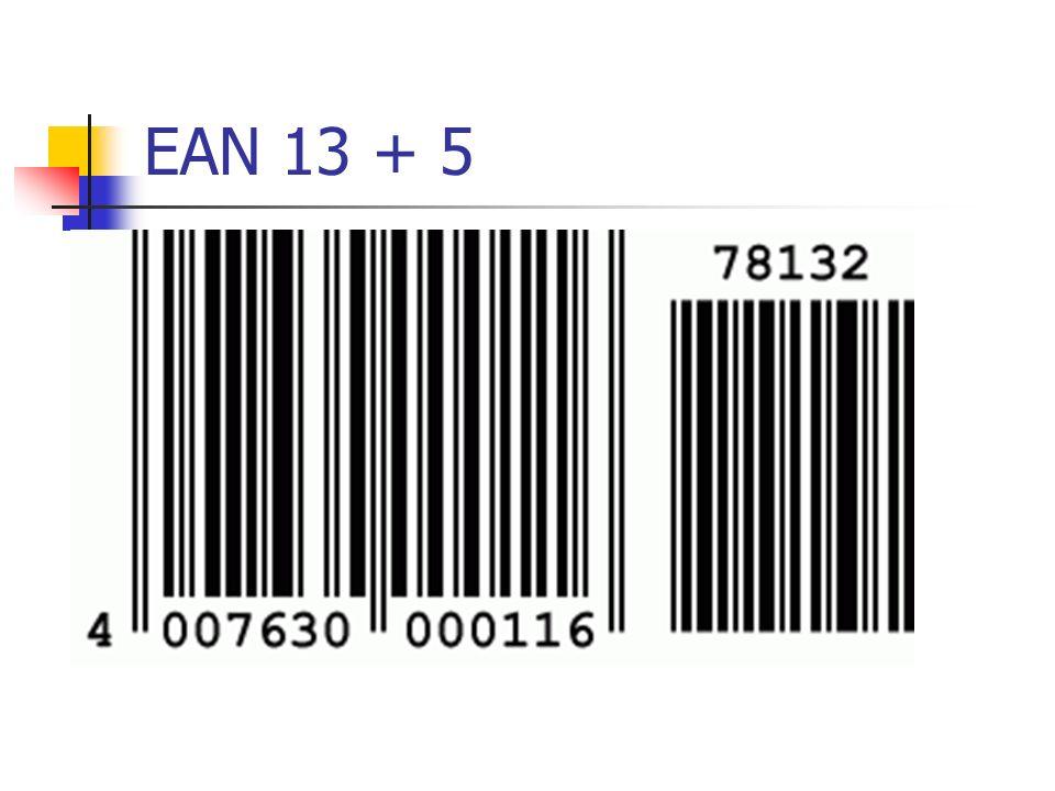 EAN 13 + 5