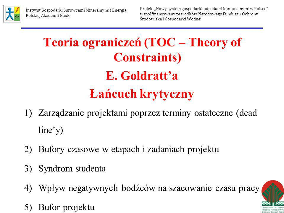 Teoria ograniczeń (TOC – Theory of Constraints)