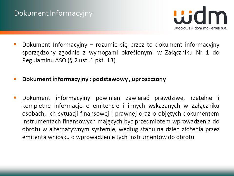 Dokument Informacyjny