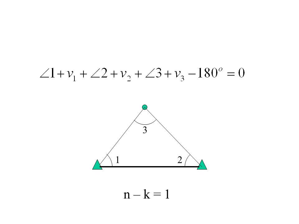 3 1 2 n – k = 1