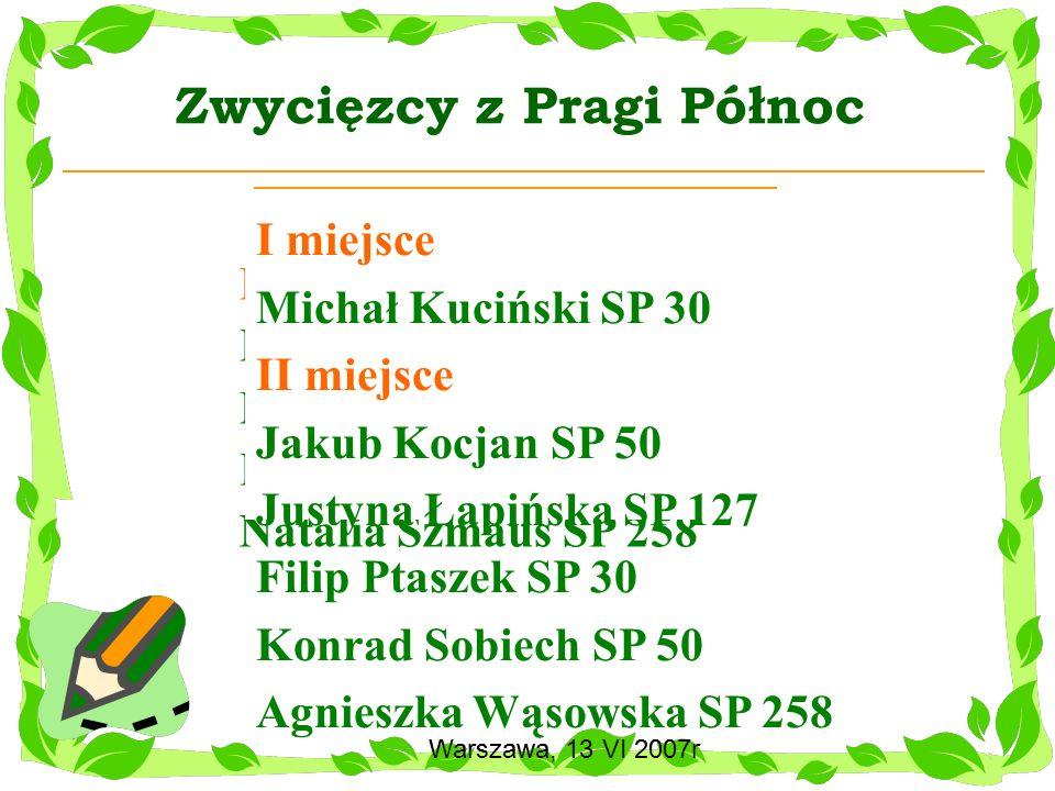 Zwycięzcy z Pragi Północ