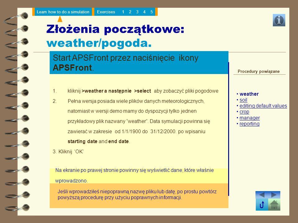 Złożenia początkowe: weather/pogoda.