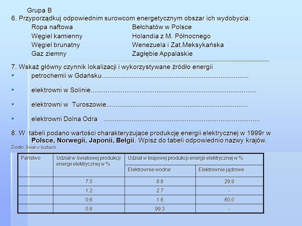 Ropa naftowa Bełchatów w Polsce