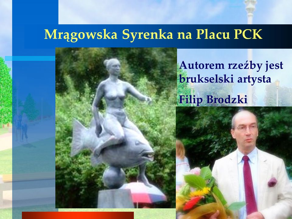 Mrągowska Syrenka na Placu PCK