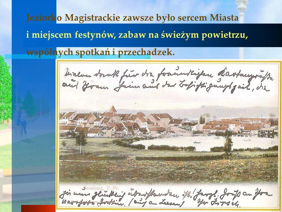Jeziorko Magistrackie zawsze było sercem Miasta