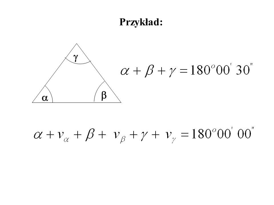 Przykład: g b a
