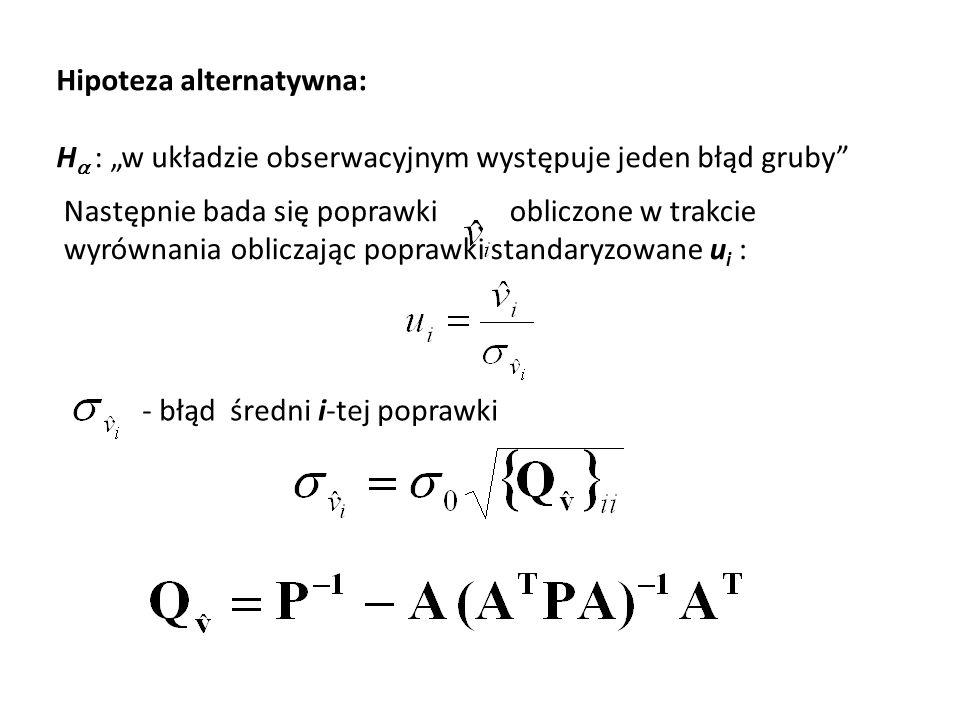 Hipoteza alternatywna: